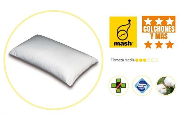 Almohada Mash de fibra Doble Funda