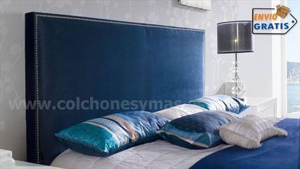 Como hacer un cabecero tapizado de polipiel good cabecero tapizado en polipiel estructura - Tablero dm leroy ...