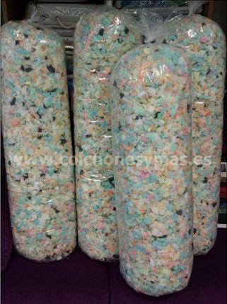 comprar bolsas de picado de goma espuma para relleno with precio goma  espuma por metro. 5ad21334dbe
